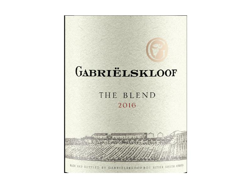 Wine Gabriëlskloof, The Blend, 2016